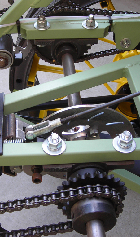 DogSled Drivetrain Detail